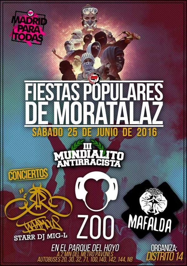 Fiestas populares Moratalaz